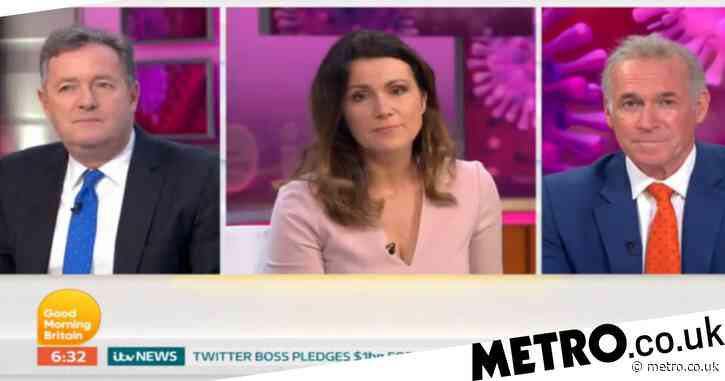 Susanna Reid overcome with emotion as couple reunite after fighting coronavirus