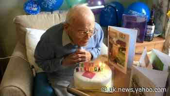 War hero celebrates 107th birthday without his family due to coronavirus lockdown