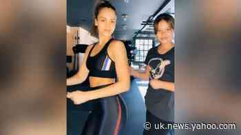 How Celebs Stay Fit Under Lockdown