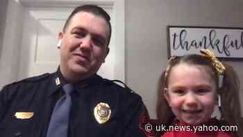 Trooper dad steps up to dance with daughter after competition gets canceled