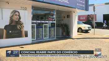 Coronavírus: na contramão de decisão estadual, Conchal reabre comércio; movimento já cresceu - G1