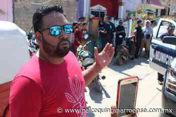 Organizan policías de José María Morelos palenque en plena contingencia y con alcohol incluido - Palco Quintanarroense