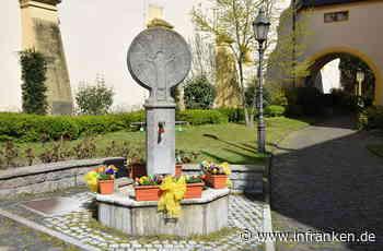 Osterbrunnen in Dettelbach tortz Corona-Krise - inFranken.de