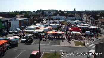 Le marché du mercredi place Roger-Salengro autorisé à Barlin - La Voix du Nord