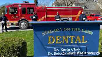 Two Niagara-on-the-Lake dentists make mask donation for firefighters - Newstalk 610 CKTB (iHeartRadio)