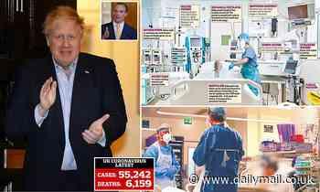 Coronavirus UK: Boris Johnson could be off work for two months