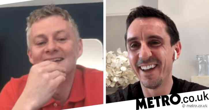 Gary Neville defends Ole Gunnar Solskjaer after Norwegian claimed Manchester United could 'exploit' coronavirus-hit clubs