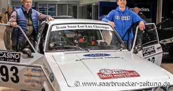 Rallye-Fahrer spenden an Gemeinde Losheim am See - Saarbrücker Zeitung