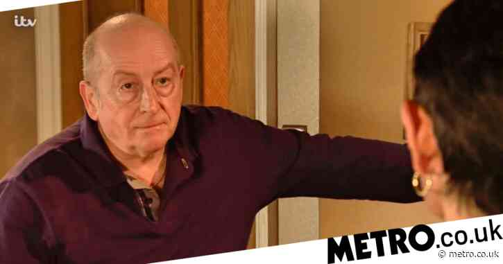 What is Geoff Metcalfe's criminal past in Coronation Street?