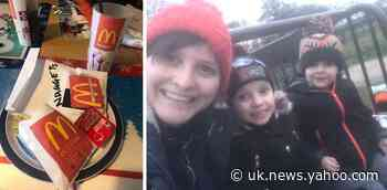 Clever mum tricks her kids with home-made McDonalds during coronavirus lockdown