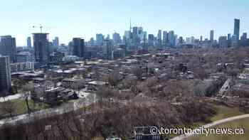 Bird's eye view of dramatic effect coronavirus pandemic has had on... - CityNews Toronto