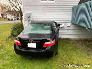 RUDE AWAKENING: Teen charged after car crashes into Embrun home - Ottawa Sun