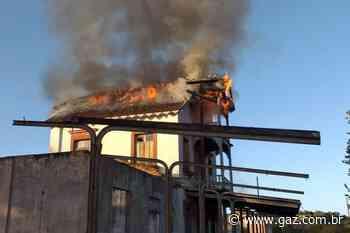 VÍDEO: incêndio atinge a Estação Férrea de Rio Pardo - GAZ