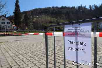 Coronakrise: Wegen Tagestourismus: Oberstaufen sperrt Parkplätze - Oberstaufen - all-in.de - Das Allgäu Online!