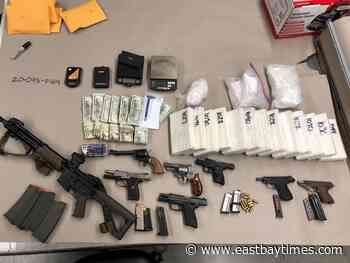 San Jose police bust nets cache of cocaine and guns - East Bay Times