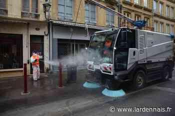 À Sedan, la composition du produit de nettoyage des rues interroge - L'Ardennais