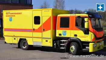 Super-Krankenwagen In Westerstede: Rollende Intensivstation im Einsatz - Nordwest-Zeitung