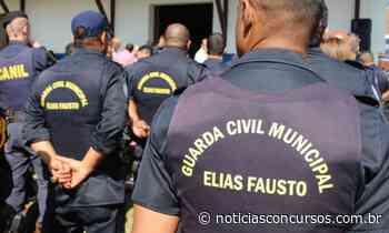 Concurso Prefeitura de Elias Fausto SP 2020: Saiu EDITAL para Guarda Civil Municipal - Notícias Concursos