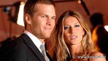 """Tom Brady über Beziehungsprobleme mit Gisele Bündchen: """"Sie war mit unserer Ehe nicht zufrieden"""" - DER SPIEGEL"""