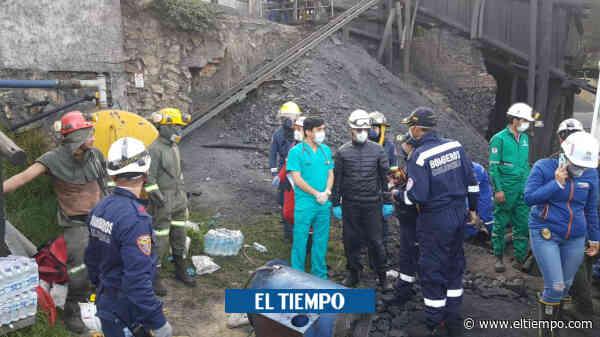 Triste y restringido adiós a los 11 mineros de Cucunubá que murieron - El Tiempo
