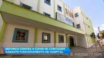 Contagem garante funcionamento de hospital contra o coronavírus - R7
