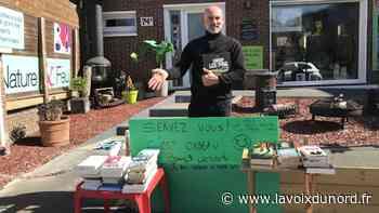 Wambrechies: une bouquinerie gratuite sur le trottoir - La Voix du Nord