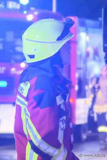 Brand in Dinklage - zwei Männer verletzt - NDR.de