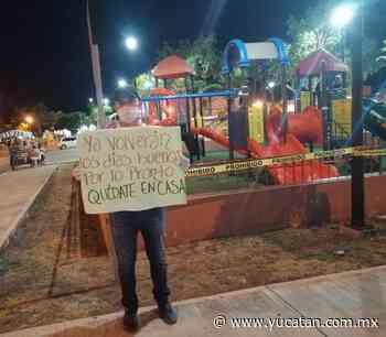 En Oxkutzcab y Tekax impiden el paso a foráneos tras caso de Covid-19 en la región - El Diario de Yucatán