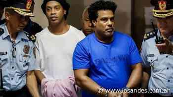 2 Tras el pago de una fortuna, Ronaldinho tendrá prisión domiciliaria en un hotel - Los Andes (Mendoza)
