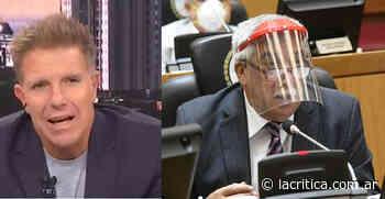 """¡INDIGNADO! La furia de Fantino contra los legisladores tucumanos por usar """"máscaras solidarias"""" - La Crítica"""