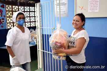 Resende distribui cestas básicas às famílias de alunos da rede municipal - Diario do Vale