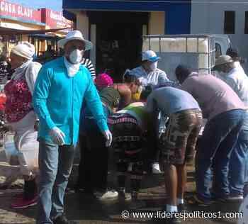 En Las Matas de Farfán realizan operativo de lavado de manos - Lideres Políticos