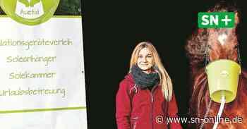 Selbstständigkeit - Schnelle Hilfe für kranke Pferde: Laura Sassenberg verleiht Inhalationsgeräte - Schaumburger Nachrichten