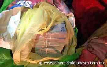 Aseguran en Huimanguillo a un hombre con dinero de procedencia ilícita - El Heraldo de Tabasco