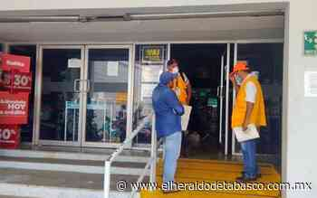 Por desacato, clausuran tienda Elektra en Huimanguillo - El Heraldo de Tabasco