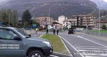 Pont-Saint-Martin, ore 19: scattano i posti di blocco all'ingresso della Valle d'Aosta - Aosta Oggi