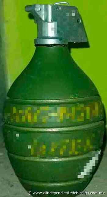 Investigan localización de granadas en Tula - Independiente de Hidalgo