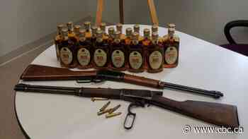 RCMP seize illegal alcohol, unsafely stored guns entering Fort Providence - CBC.ca
