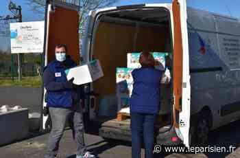 A Dammarie-les-Lys, mobilisation sanitaire au camp de Moldaves - Le Parisien