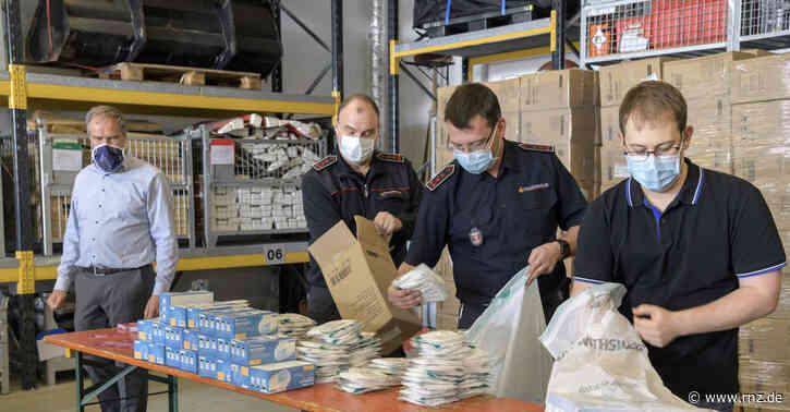 Lieferung aus China:  Verteilung von 300.000 Schutzmasken hat in Heidelberg begonnen
