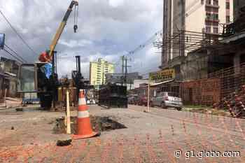 Cosanpa inicia substituição de rede de abastecimento de água na Mauriti, em Belém - G1