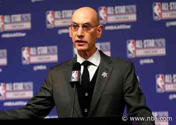 Commissioner Adam Silver Discusses Season Postponement