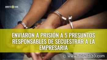 En Sopetrán rescataron a una mujer que fue secuestrada en Ibagué y por la que pedían 250 millones de pesos - Minuto30.com