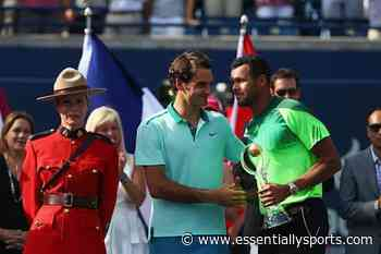 Jo-Wilfried Tsonga to Use T-shirt he Wore Against Roger Federer to help Fight Coronavirus - Essentially Sports