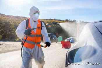 Ushuaia: El Municipio dispuso la desinfección de vehículos particulares que circulan por la ciudad - Sur54