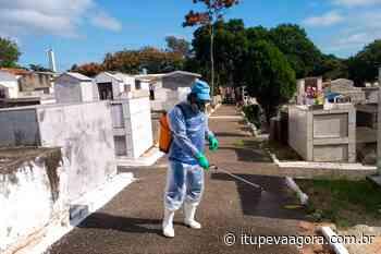 Coronavírus: Itupeva realiza serviço de desinfecção é realizado no Cemitério Municipal - Itupeva Agora