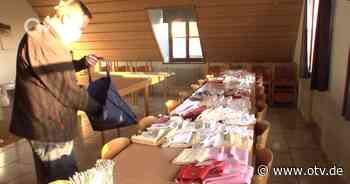 Schnaittenbach: Feuerwehr näht Gesichtsmasken - Oberpfalz TV