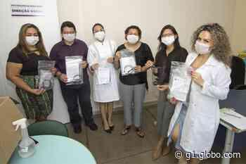 IFAM faz entrega de máscaras a profissionais da saúde em Manaus - G1