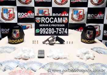Armada, esposa do traficante 'Orelha' é presa em área vermelha de Manaus - Portal do Holanda