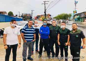 Há três meses sem receber, agentes de portaria fazem manifestação em Manaus - Portal do Holanda